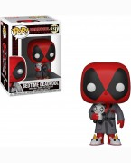 Фигурка Funko POP! Bobble: Marvel: Deadpool Playtime: Deadpool in Robe 31118